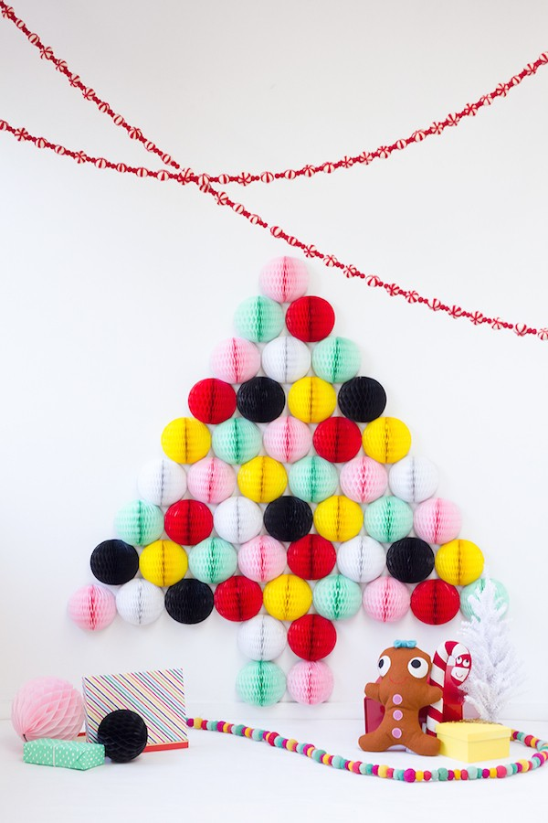 honeycomb-christmas-tree