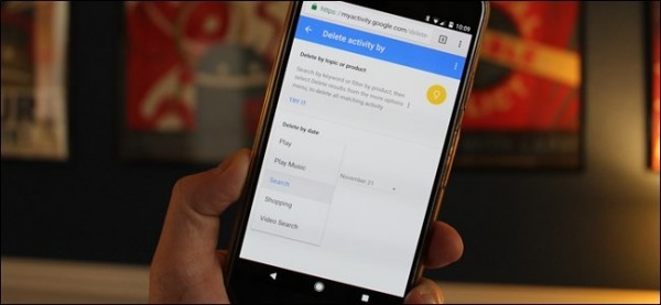 حذف تاریخچه جستجو از گوگل