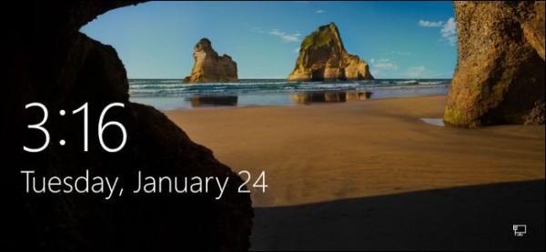 شخصی سازی صفحه قفل  در ویندوز ۸ یا ۱۰