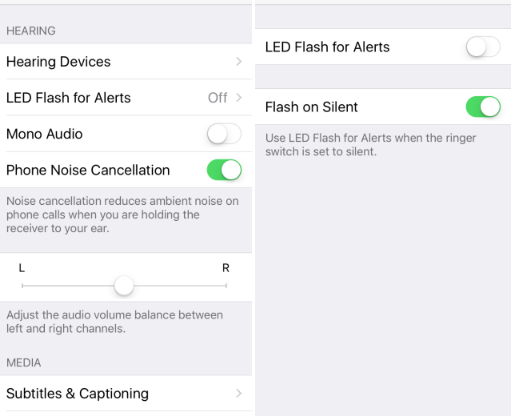 How To Enable LED Flash Alerts Only When Your iPhone Is Silent