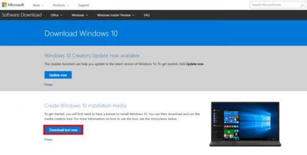چگونه روی فلش با Media Creation Tool ویندوز ۱۰ نصب کنیم؟