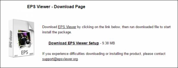 باز کردن عکس EPS روی ویندوز