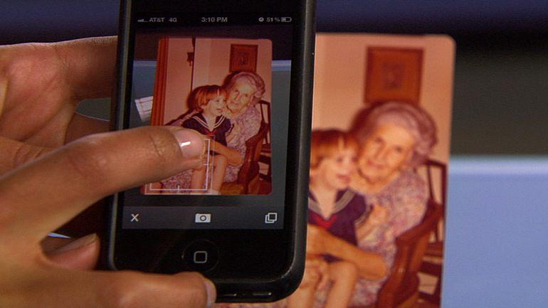 اسکن عکس با موبایل