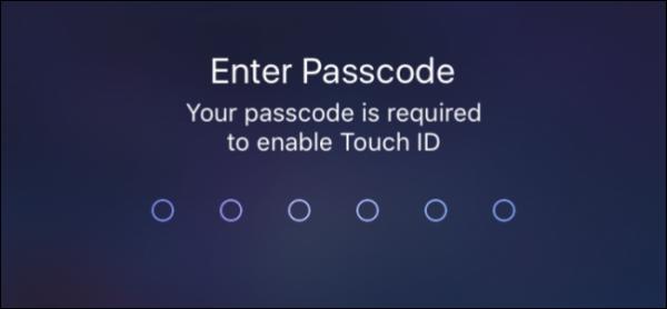 حل مشکلات  Touch ID