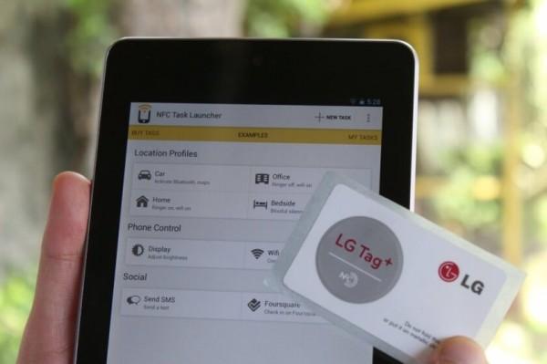 استفاده از تگهای NFC