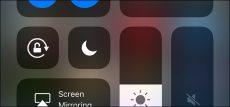 3D Touch در Control Center iOS 11
