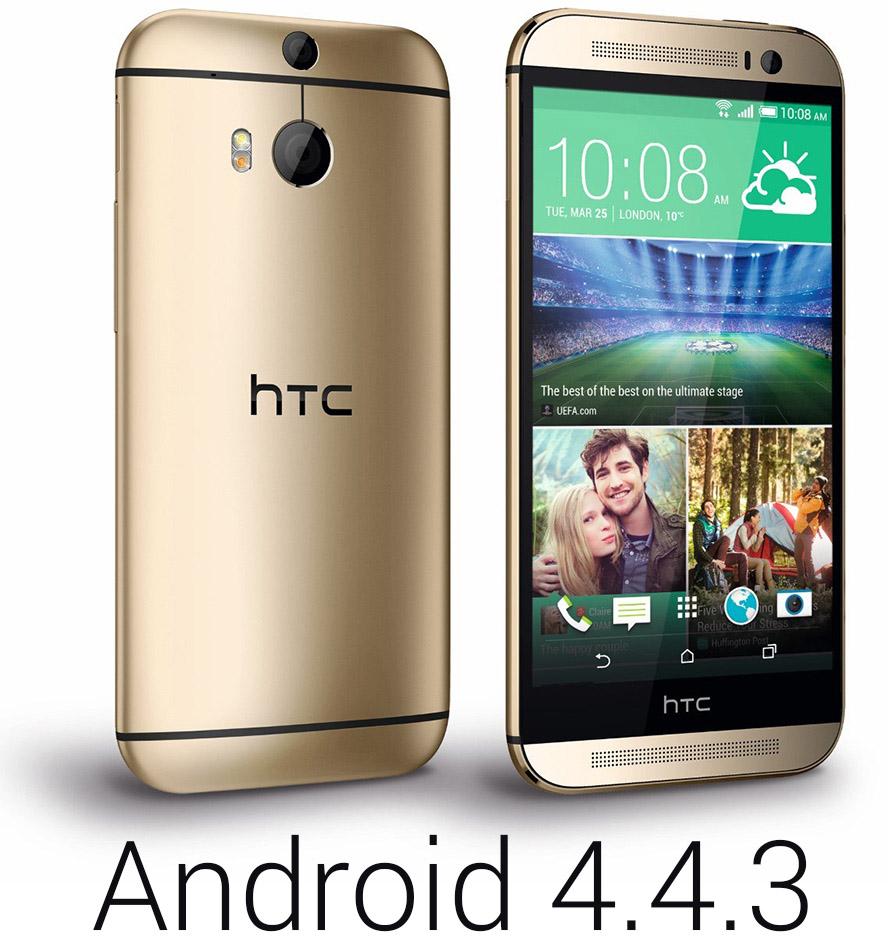 HTC One M8 آپدیت اندروید 4.4.3 KitKat را دریافت می کند!