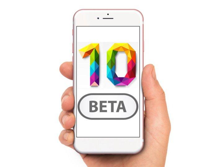 اپل; چهارمین نسخه بتای ios10 منتشر شد
