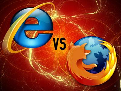 رقابت بین 9 IE و Firefox 4