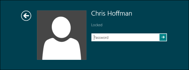 Windows 8-Password Prompt