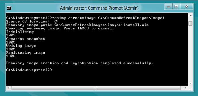 Windows 8-Custom Refresh Image