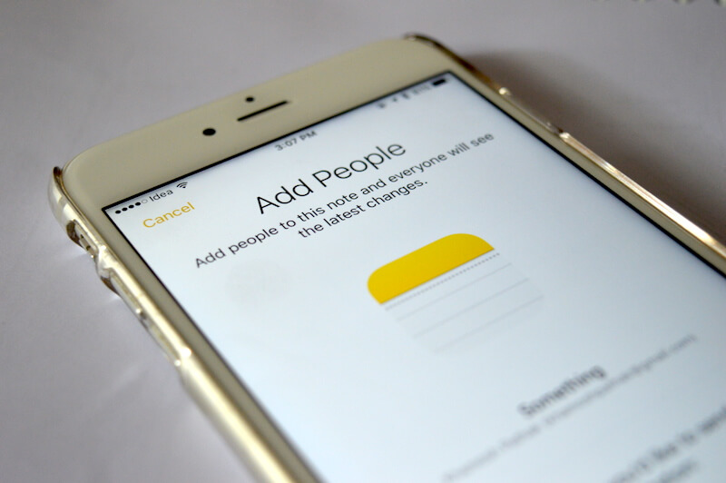 چگونه یادداشت های اپلیکیشن Notes در iOS 10 را با دیگران به اشتراک بگذاریم ؟