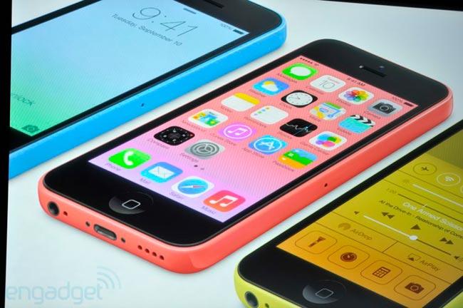 گوشی هوشمند iPhone 5C رسما معرفی شد