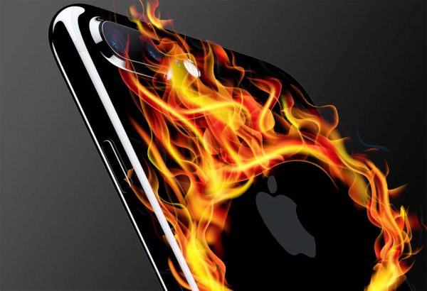 راه حل مشکل گرم شدن iPhone 7