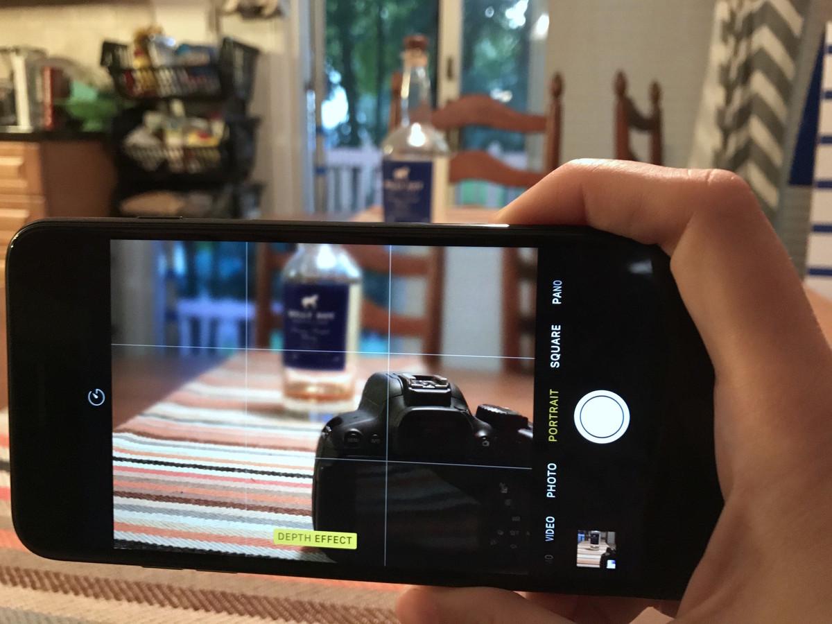 دوربین آیفون 8 پلاس
