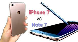 عجله سامسونگ در عرضه Note 7 به سود فروش بیشتر iPhone 7 تمام شد