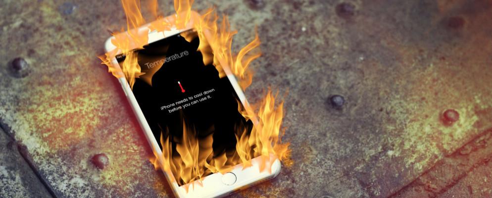 ده راهکار برای حل مشکل داغ شدن آیفون و جلوگیری از انفجار آن
