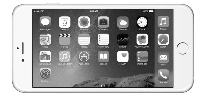 چگونه حالت سیاه و سفید را در iPhone و iPad فعال کنیم