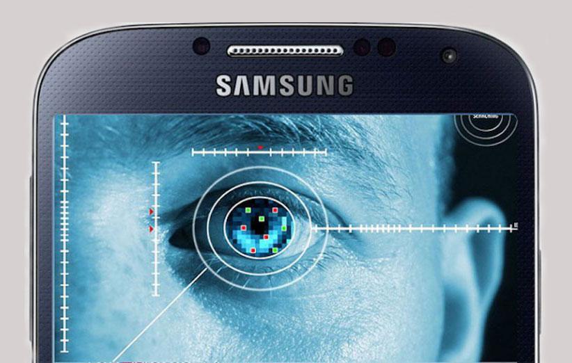 سامسونگ: منتظر اپلیکیشن های مجهز به سنسور عنبیه چشم باشید