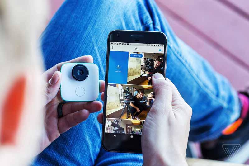 گجت جدید گوگل (کلیپس) یک دوربین با هوش مصنوعی است