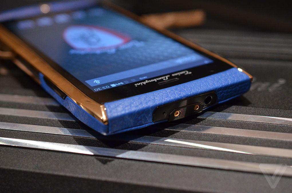 تلفن هوشمند ۶۰۰۰ دلاری لامبورگینی
