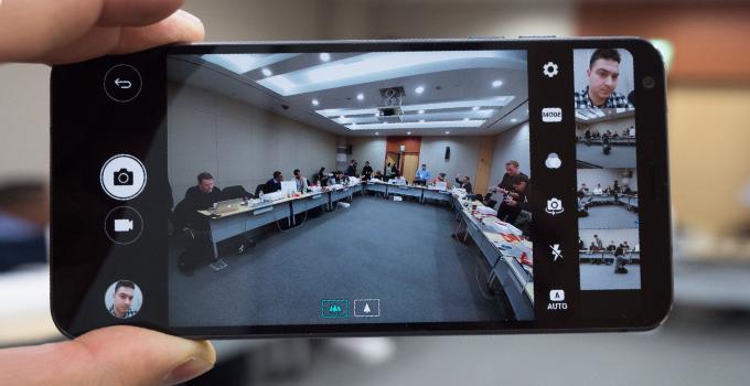 خاموش / روشن کردن camera roll در گوشی LG G6