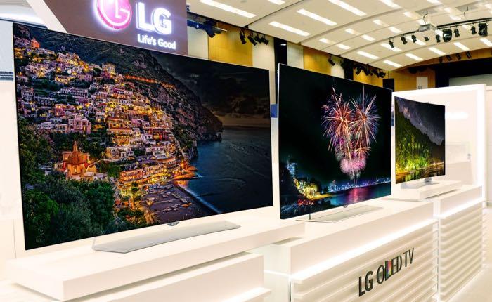 ال جی تلویزیون های ۴K OLED را با قابلیت HDR در IFA به نمایش می گذارد