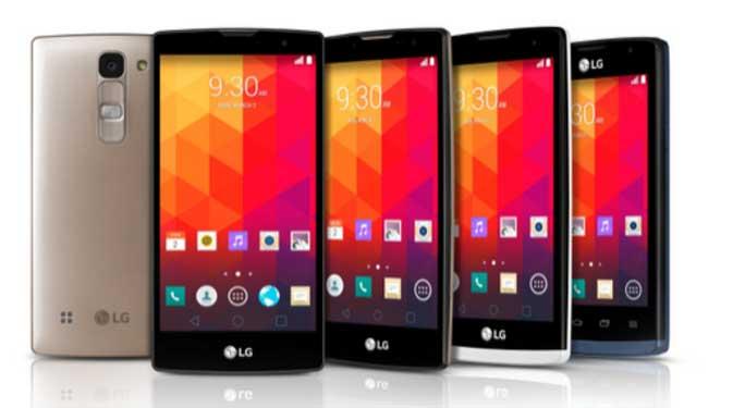 الجی از چهار گوشی هوشمند میان رده رونمایی کرد