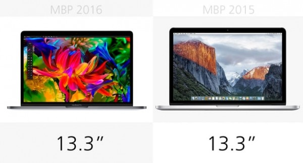 macbook pro 2016 vs 2015 comp 8 6 600x324 شما کدام را ترجیح می دهید؟ خرید مک بوک پرو ۲۰۱۶ یا مک بوک پرو ۲۰۱۵ اخبار IT