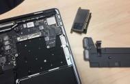 مک بوک پرو ۲۰۱۶ به ماژول حافظه SSD قابل تعویض مجهز است