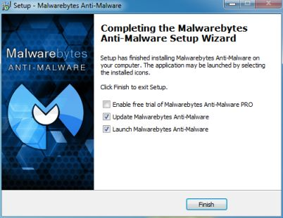 Malwarebytes-Installation