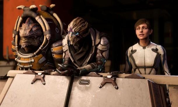 سوئیچ بین singleplayer به multiplayer در بازی Mass Effect Andromeda هنگام بازی فراهم شد