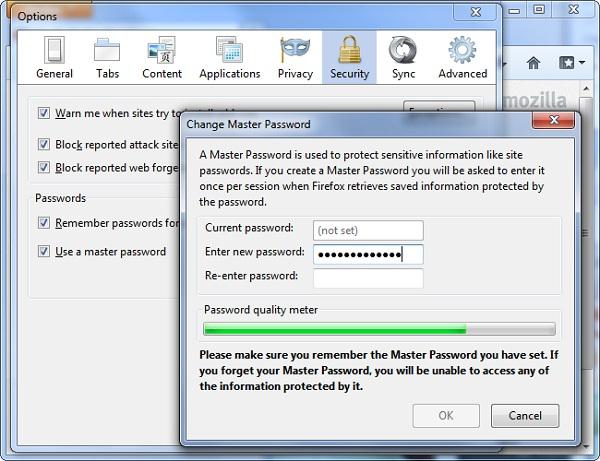 master-password