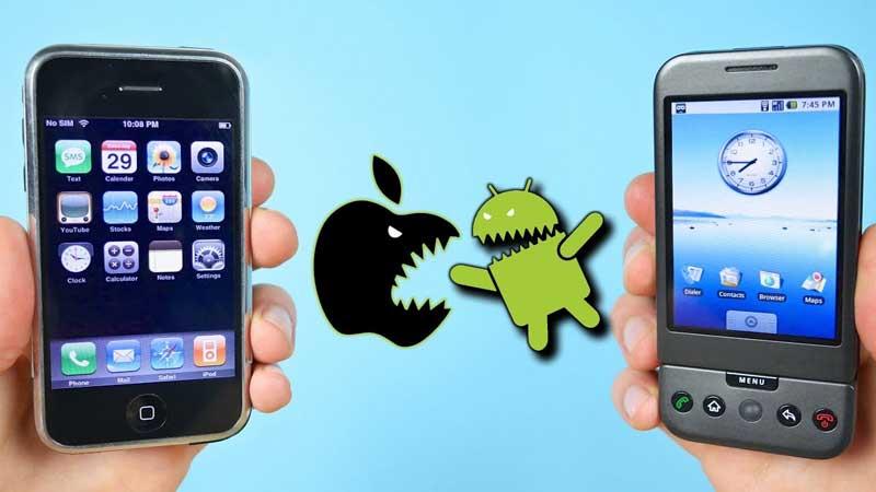گوشی های اندروید بیشتر خراب می شوند یا گوشی های آیفون؟