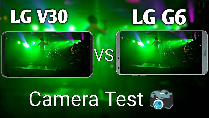 استفاده از امکانات دوربین V30 در G6