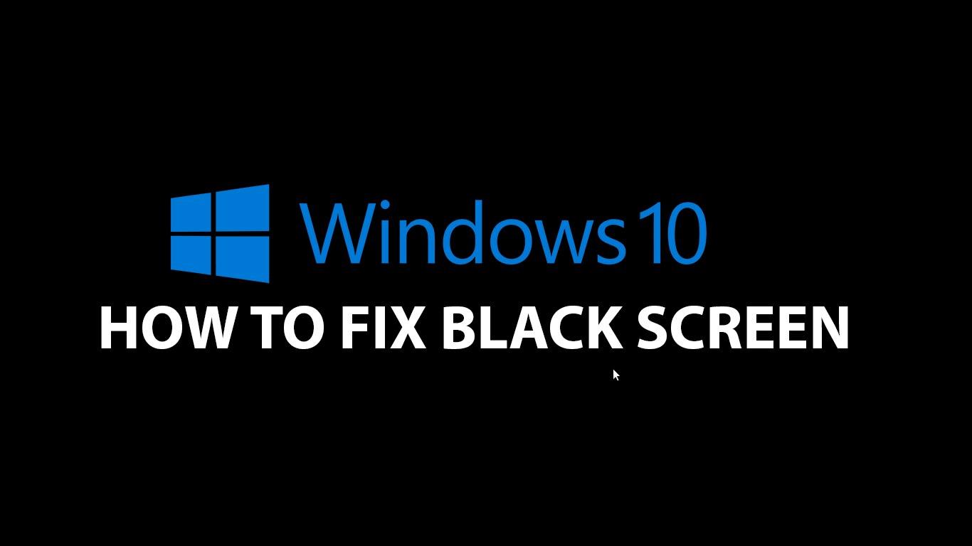 چگونه مشکل نمایش صفحه سیاه هنگام بالا آمدن ویندوز 10 را حل کنیم؟