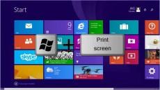 گرفتن اسکرین شات در ویندوز 8