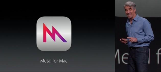 در کنفرانس WWDC ویژگی Metal برای مک معرفی شد