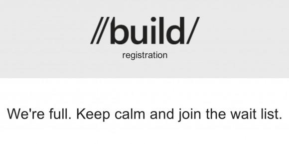 تمامی بلیط های Microsoft Build 2012 فروخته شد