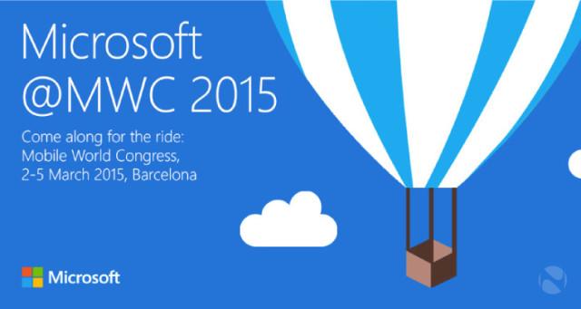مایکروسافت حضورش را در MWC 2015 تایید کرد