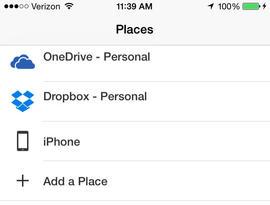 Dropbox و آفیس
