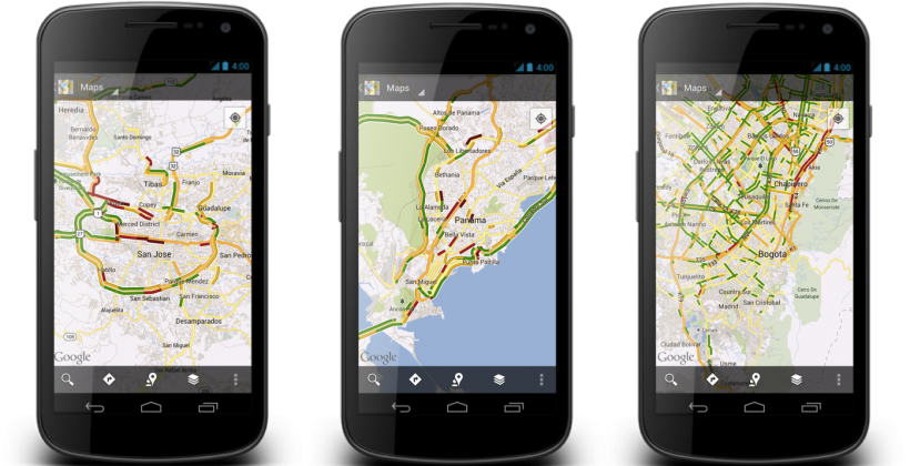 Google Maps برای Android و  IOS آپدیت شد