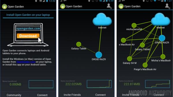 تبدیل موبایل به Hotspot