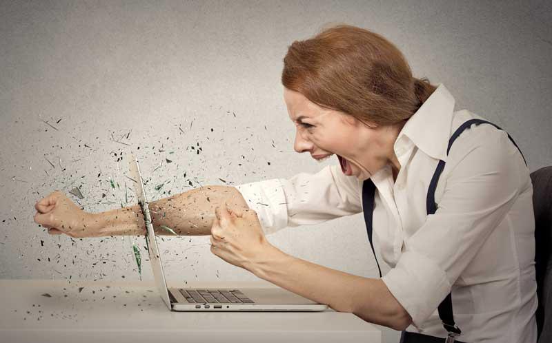 علائم و نشانه های کامپیوتر ویروسی
