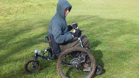 Mountain Trike از دو ویلچر off-road رونمایی کرد