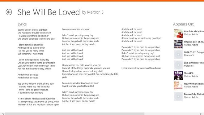 musiXmatch-Lyrics