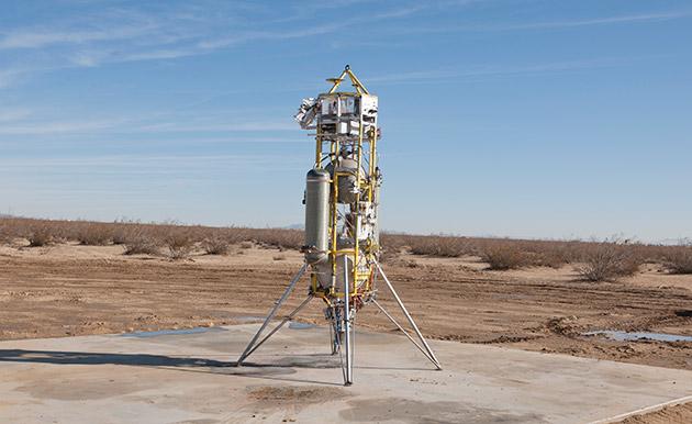ناسا تست های بیشتری در مورد فناوری فرود دقیق انجام خواهد داد