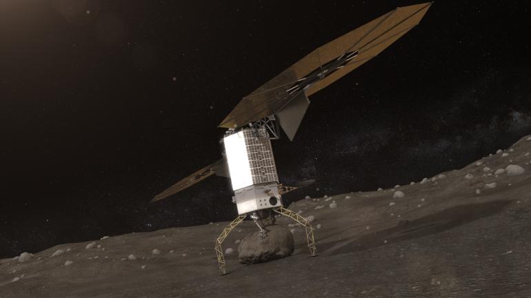 پروژه ی Asteroid Redirect، فرود روی شهاب سنگ ها و برداشتن قسمتی از آن
