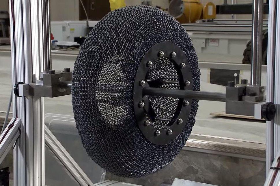 چرخ ابداعی جدید ناسا