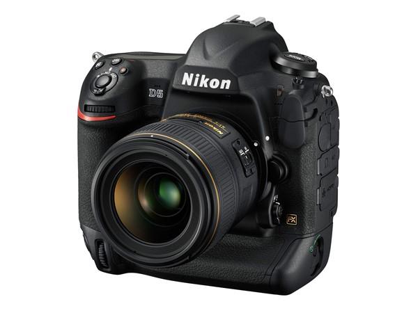 رونمایی نیکون از دوربین عکاسی فول فریم حرفه ای Nikon D5